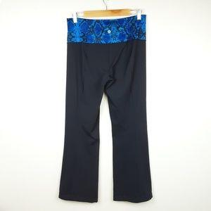 Lululemon Groove Pant III Naval Blue Snake Print